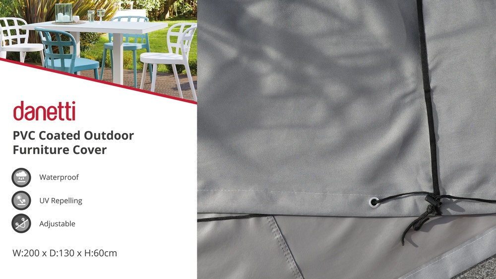 Large waterproof garden furniture cover