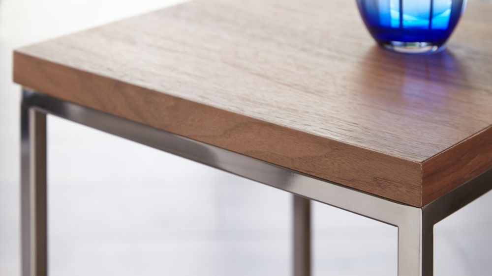 Buy walnut side table