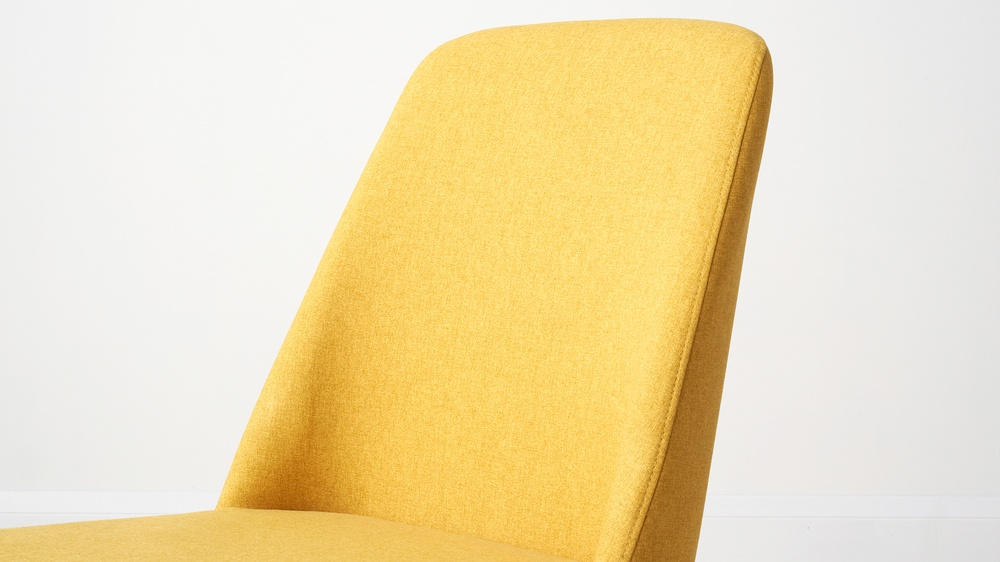 Buy soft fabric dining chairs