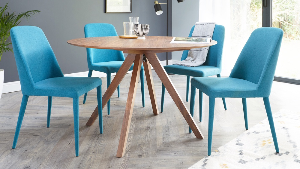 Material chair dining set
