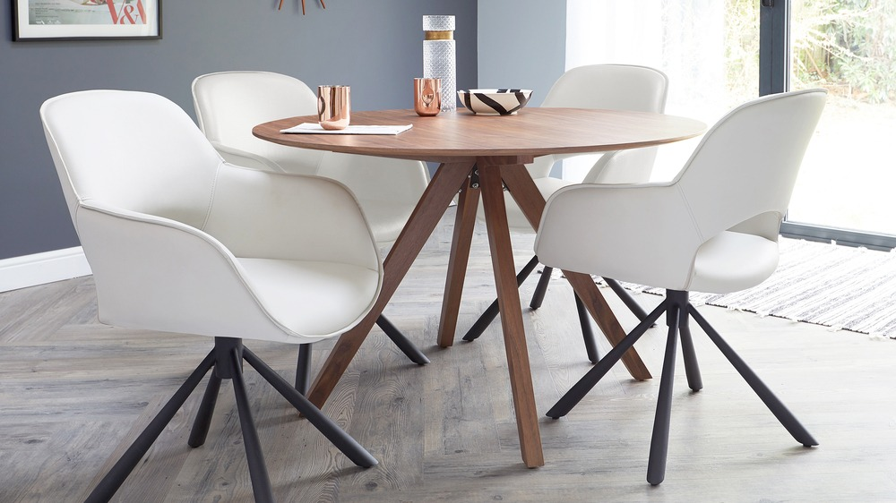 Buy wooden round table sets online