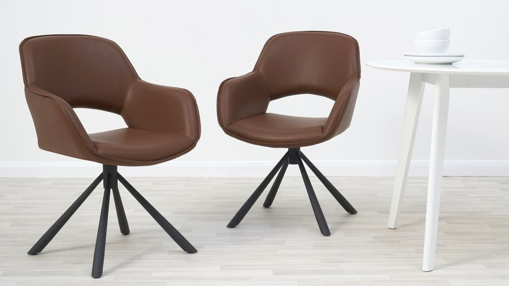 Buy marlow swivel chair kitchen dining set