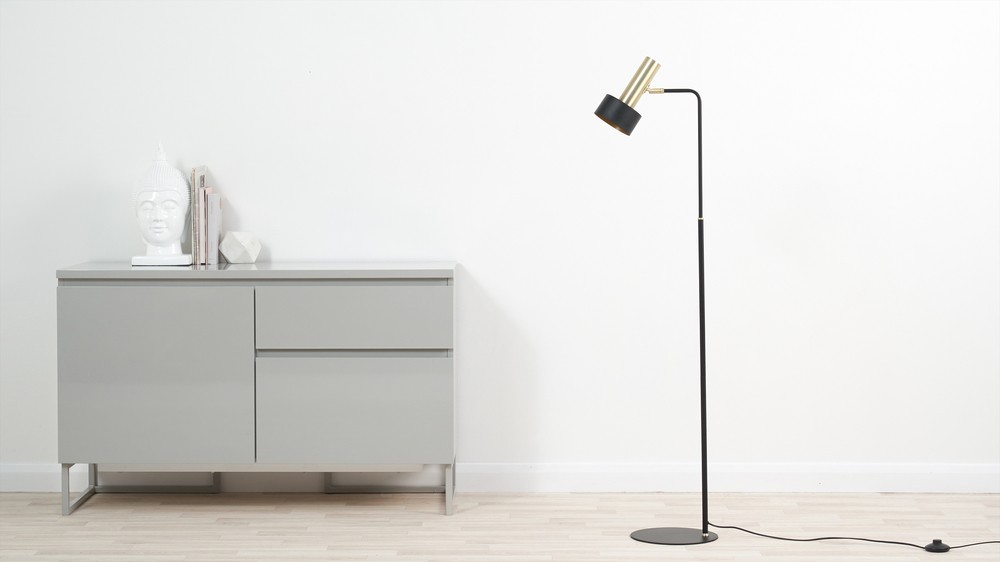 Buy brass simple floor lamp