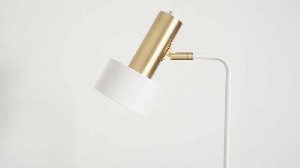 Brass simple table lamps