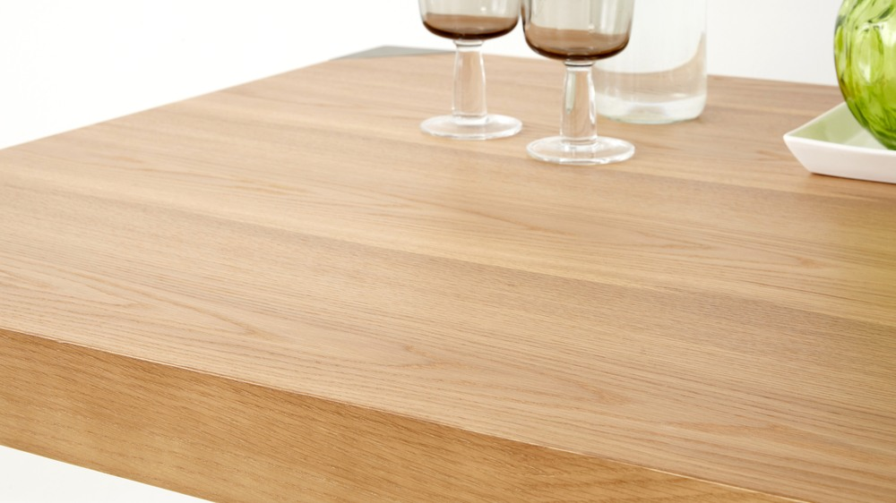 Contemporary Styled Wood Dining Table