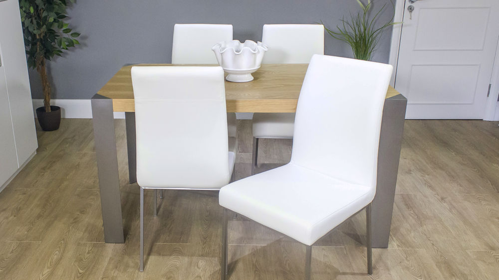 Comfortable Dining Chairs and Wooden Dining Table
