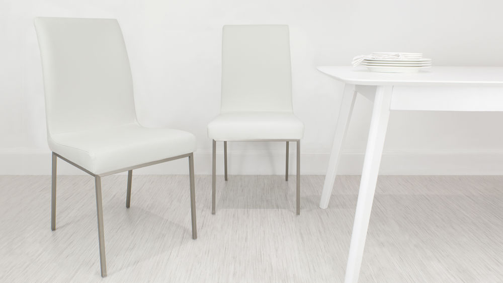 Dining Chairs in White