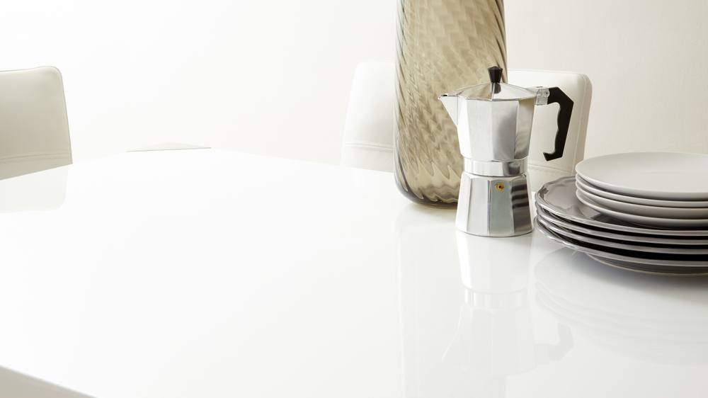 Modern White Gloss Table