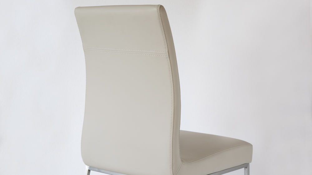 Upholstered Beige Dining Chairs