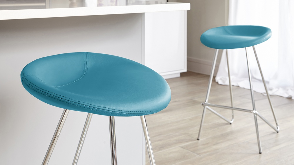 Anzio Modern Fixed Height Bar Stool Danetti