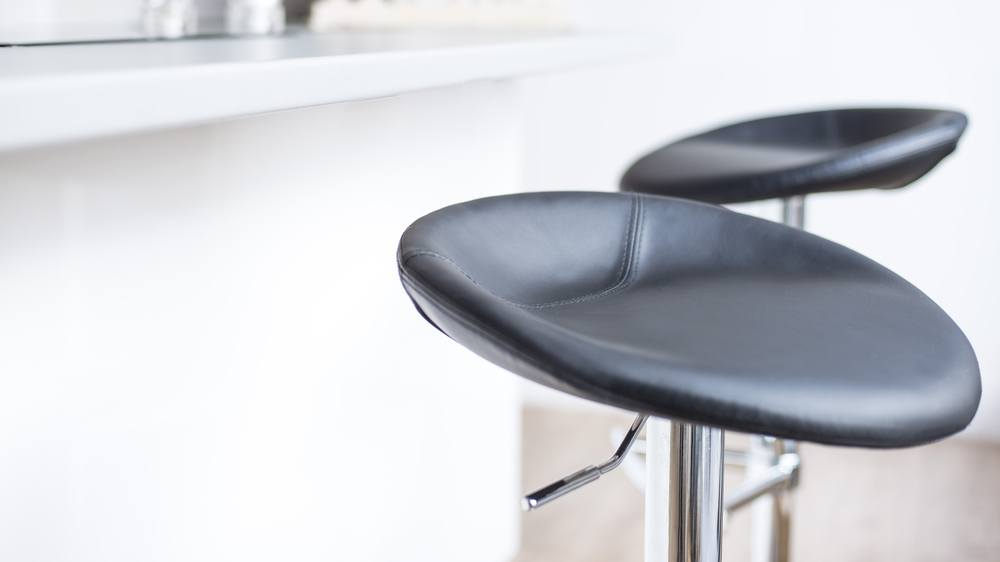 Contemporary Black Bar Stools