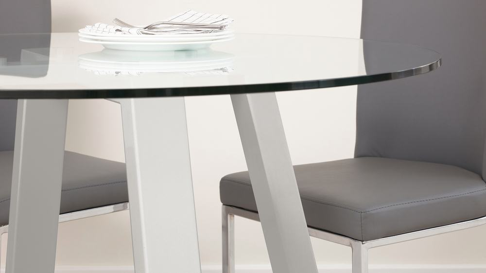 Buy glass table dining set