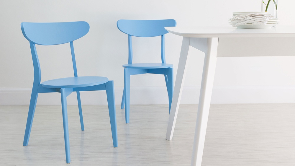 Light Blue Dining Chairs