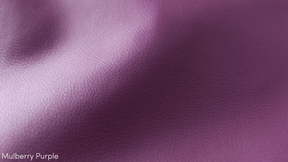 Contemporary Purple Faux Leather
