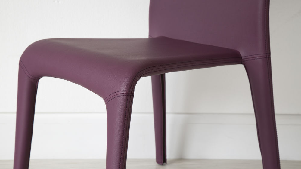 Miraculous Argenta Coloured Faux Leather Dining Chair Caraccident5 Cool Chair Designs And Ideas Caraccident5Info