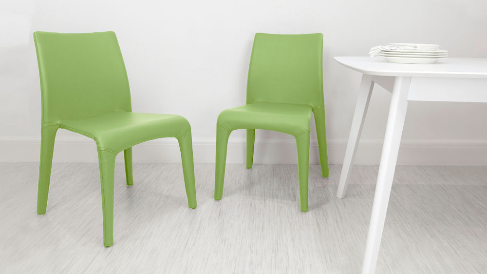Comfortable Green Dining Chairs