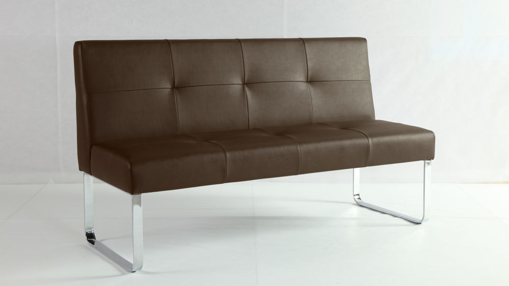 Large Brown Bench for Dining