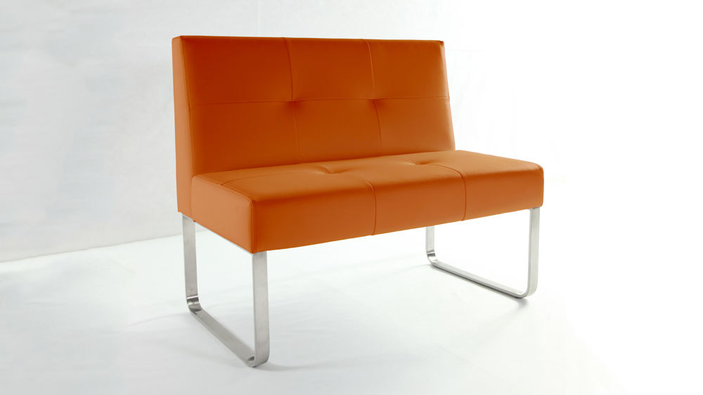 Modern Coloured Dining Bench
