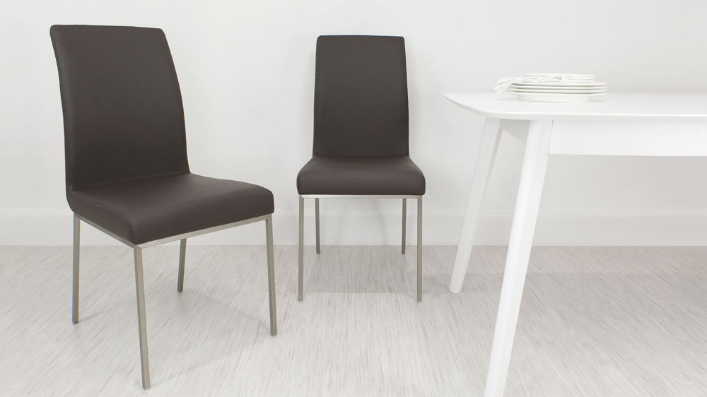 Modern Brown Dining Chairs UK
