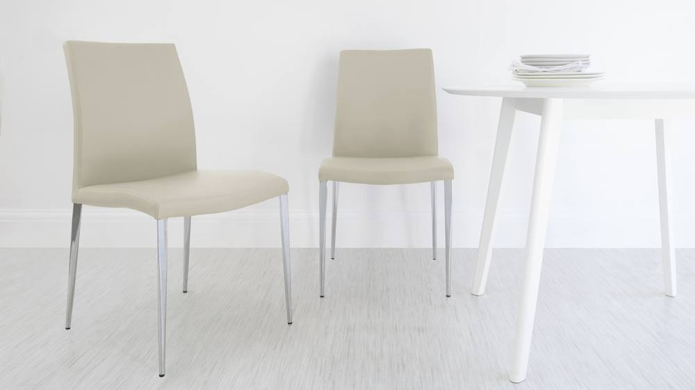 Beige Dining Chairs on a Budget