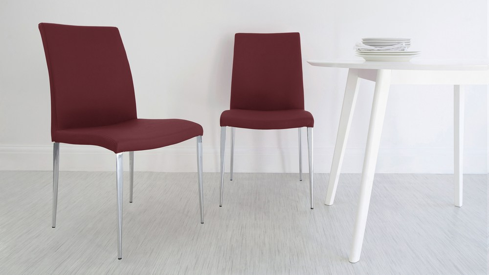 Large Square Dark Wood Dining Set With Glass Legs Chairs