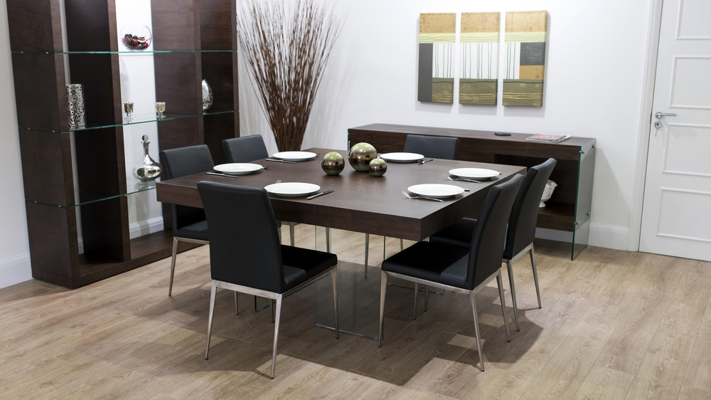 Dark 8 Seater Dining Set