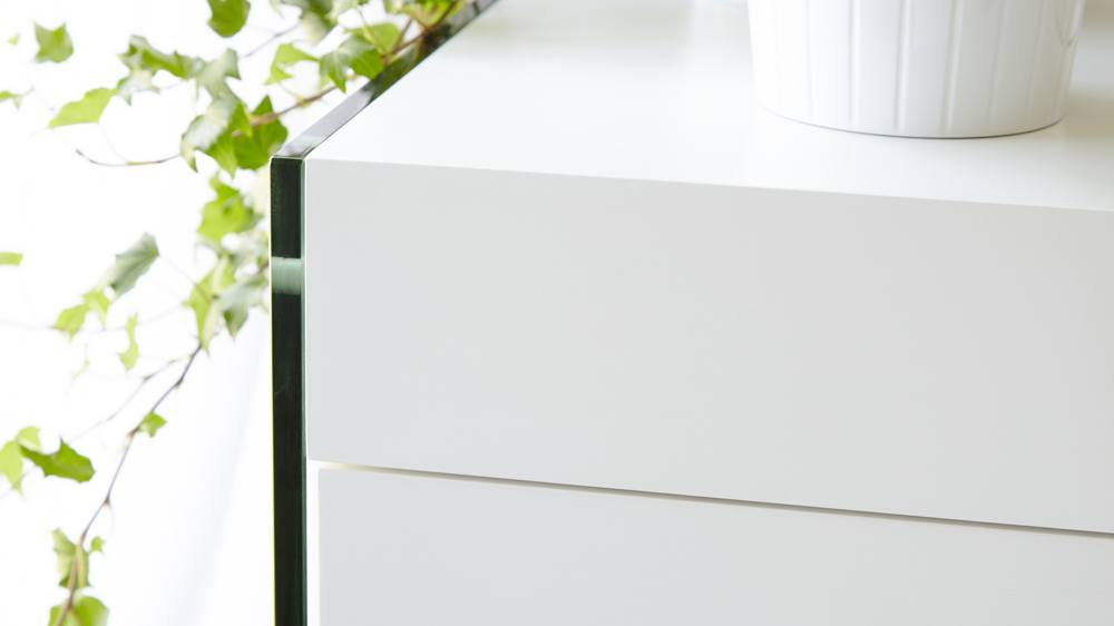 Modern White sideboard with storage
