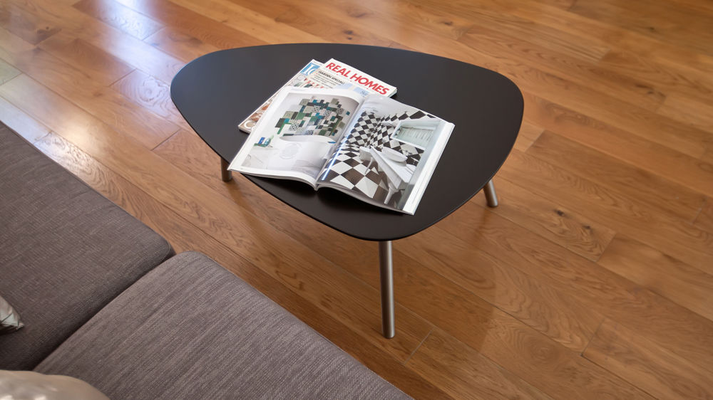 Modern Matt Black Coffee Table