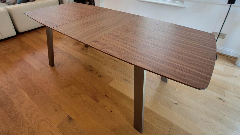 Large Wooden Extending Dining Table