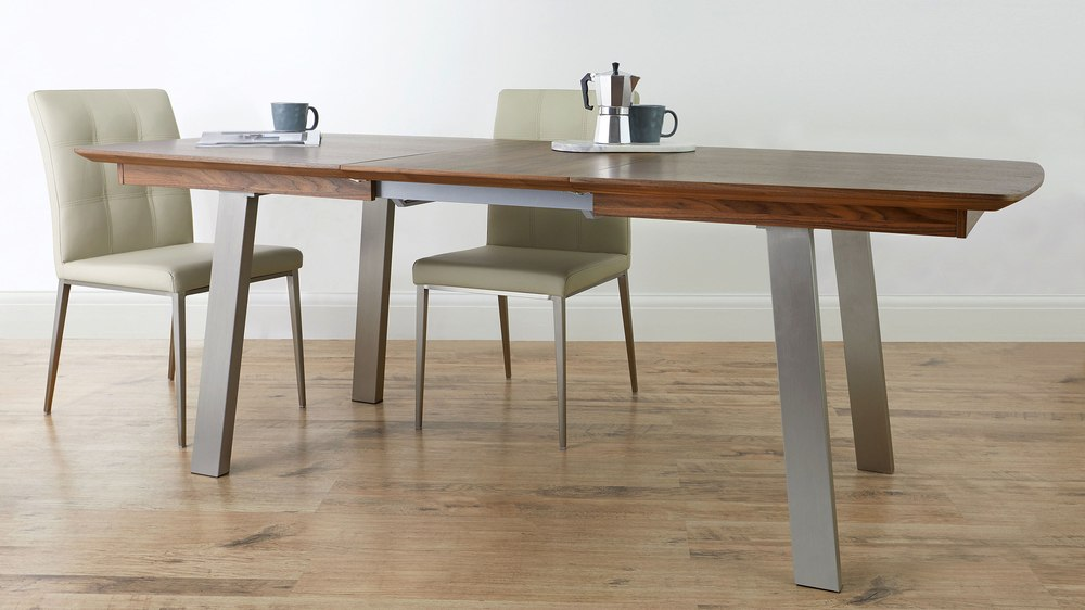 I Walnut Extendable Dining Table
