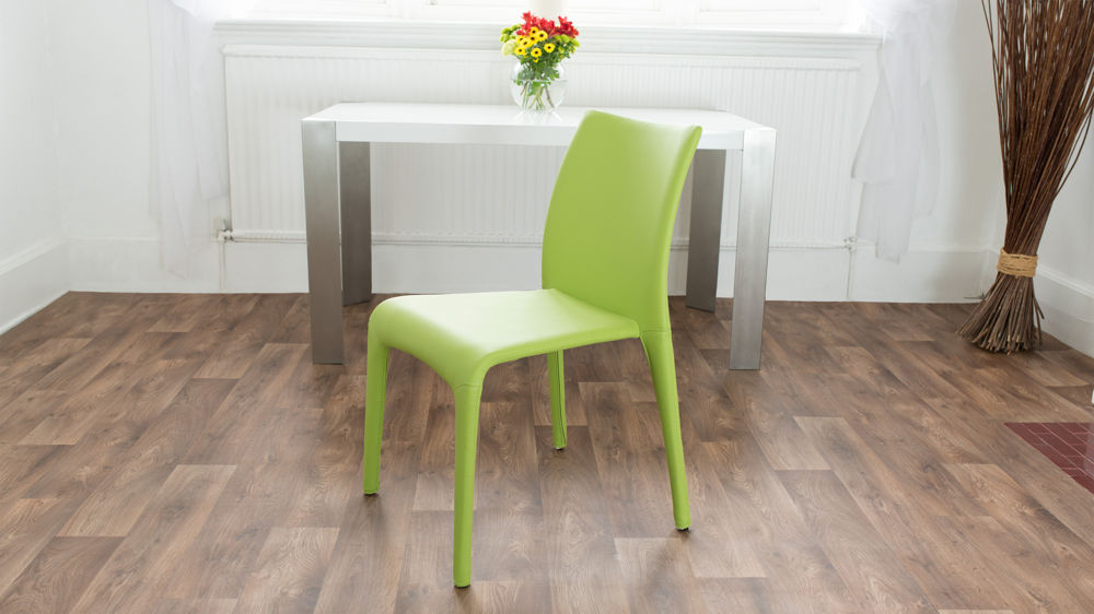 Green Stackable Dining Chairs