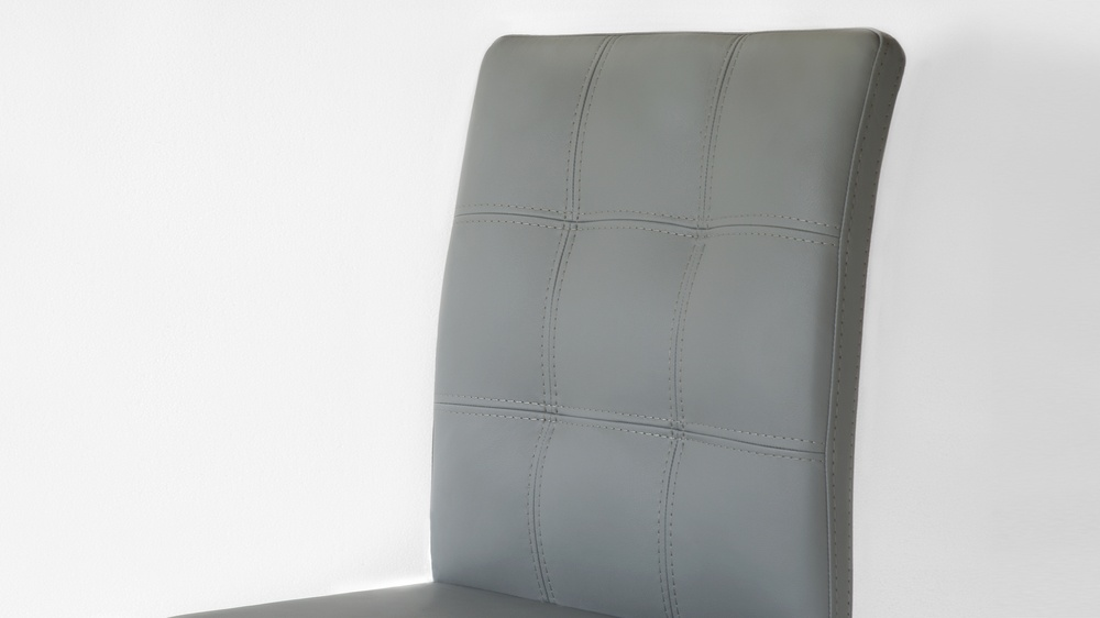 Dining Chairs in Light Grey