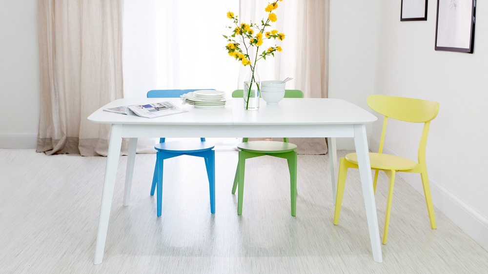 Multi Coloured Dining Set