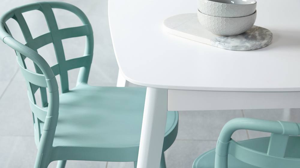 Stacking dining sets