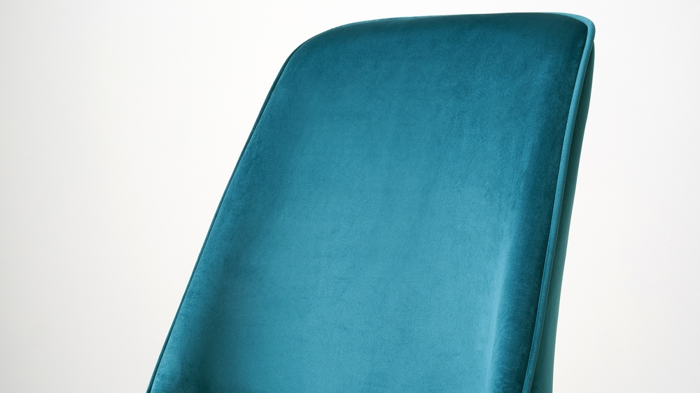 Quality velvet dining chairs