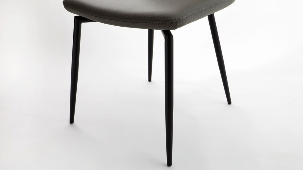 Buy black and grey dining chair