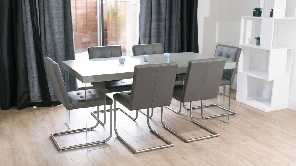 Grey Dining Set