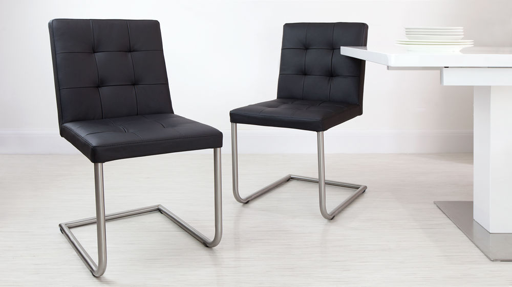 Modern Black Dining Chairs UK