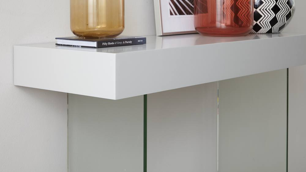Modern Glass Durable Console Table