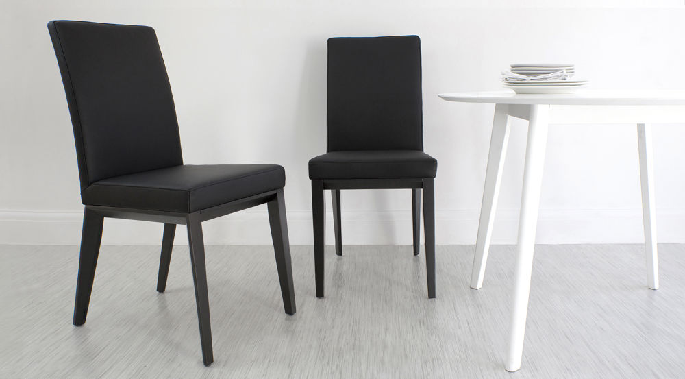 Stylish Black Dining Chairs UK