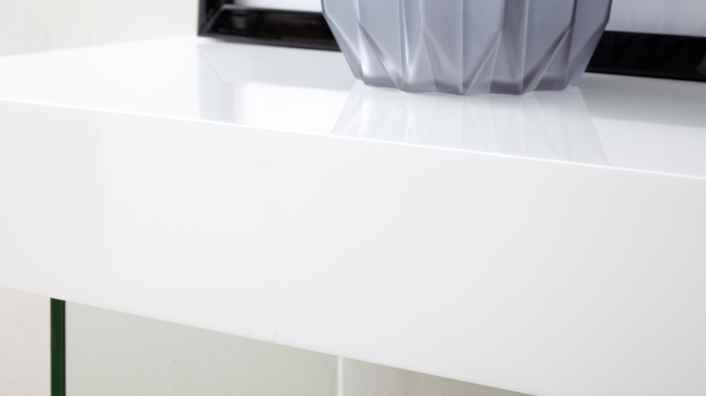White Gloss High Quality Console Table