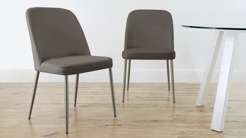 leather dining chair sets