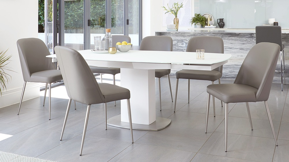 8 seater extending table