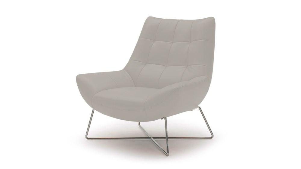 Light Grey Lounge Chair