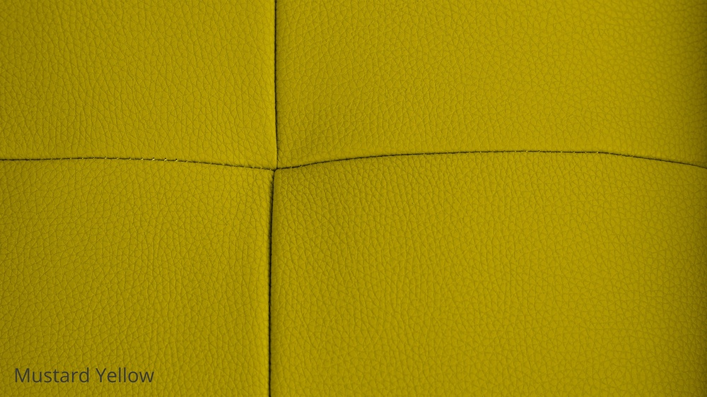 Mustard Yellow Faux Leather