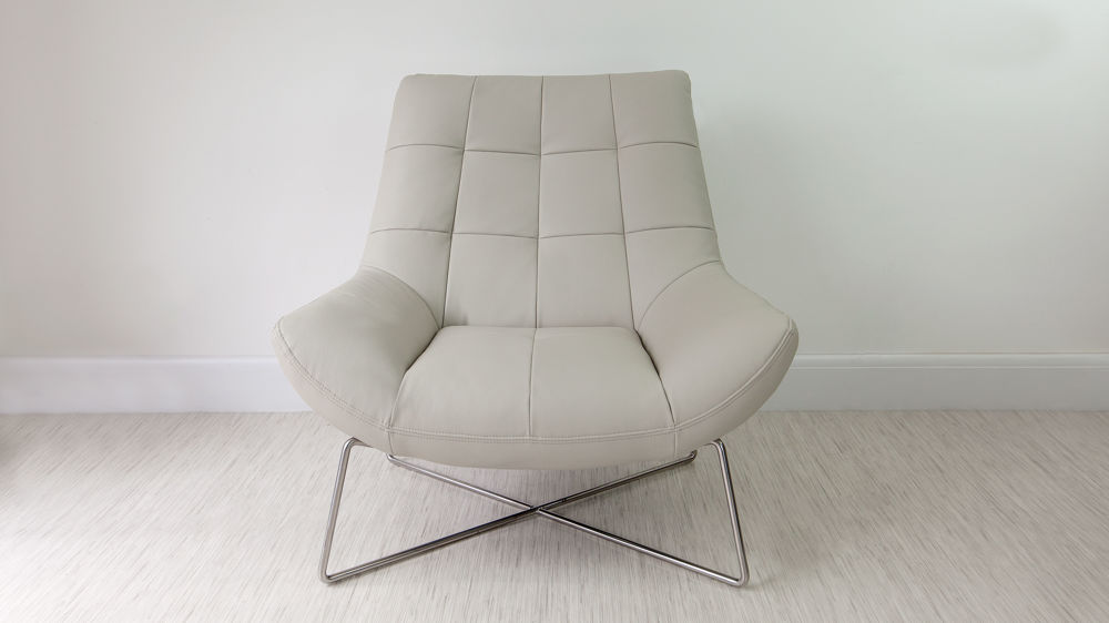 Comfortable Grey Arm Chair