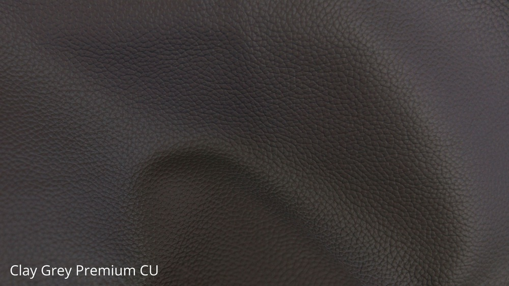 Quality Faux Leather Clay Grey