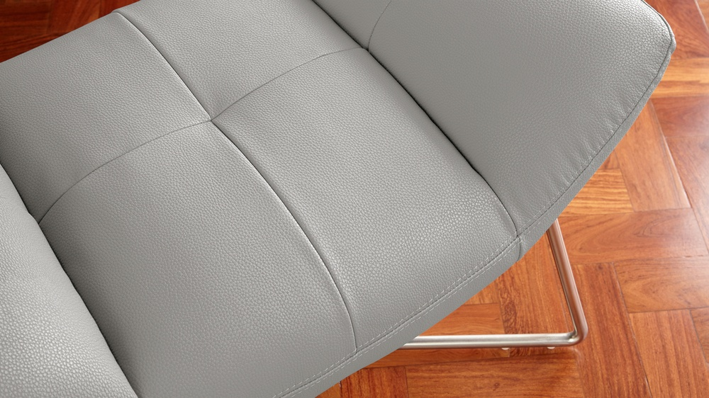 faux leather foot stools