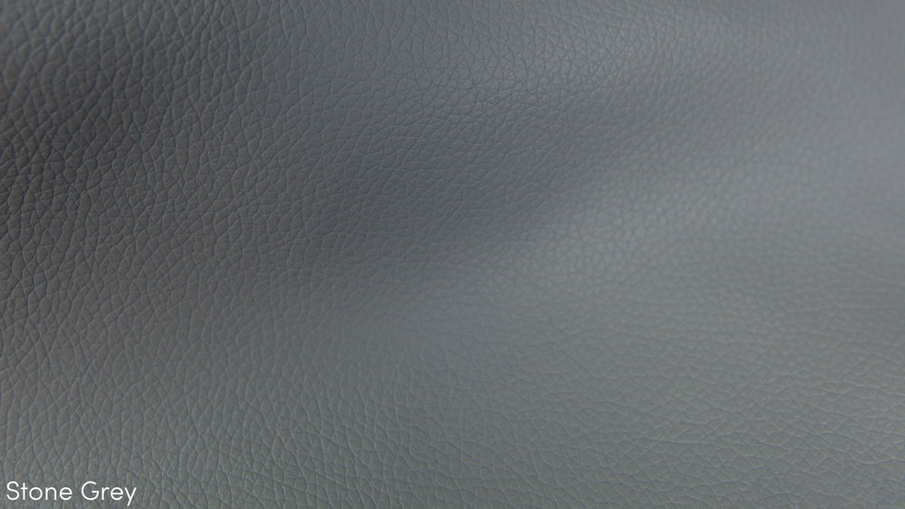 Grey Faux Leather