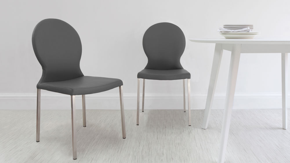Dining Chairs in Grey